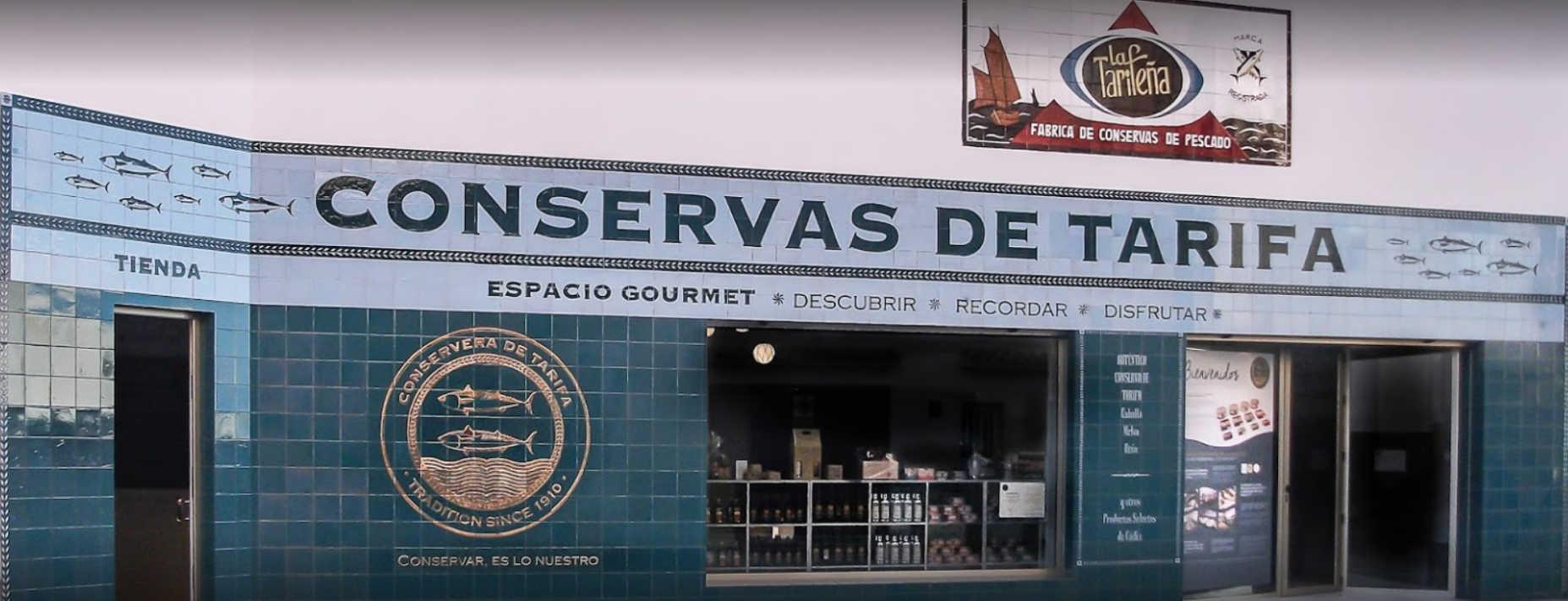 Fischgeschäft Conservera de Tarifa