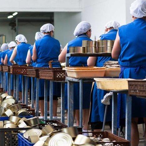Fischfacharbeiterinnen La Conservera de Tarifa