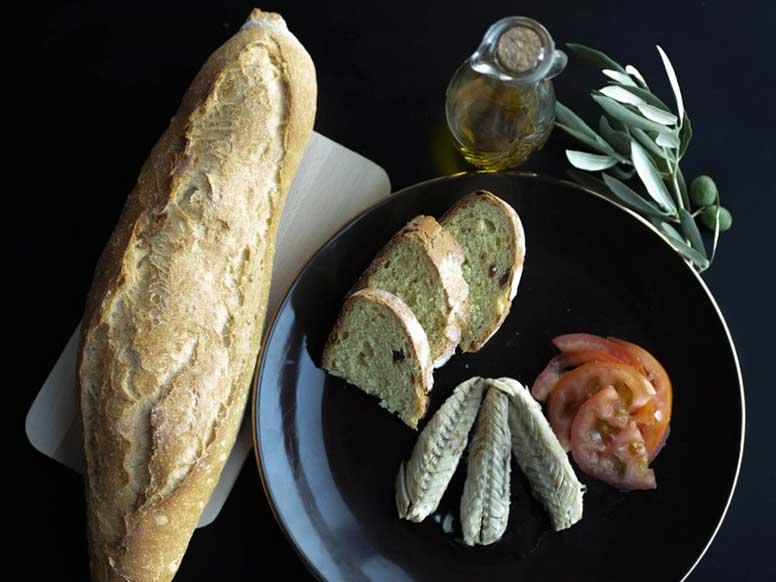 Thunfisch Sandwich Baguette