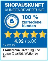 Shopauskunft.de Bewertungen zu tarifafisch.de