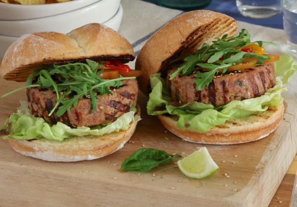 Thunfisch-Frikadellen der Omega 3 Burger