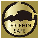 Delfin freier Fischfang
