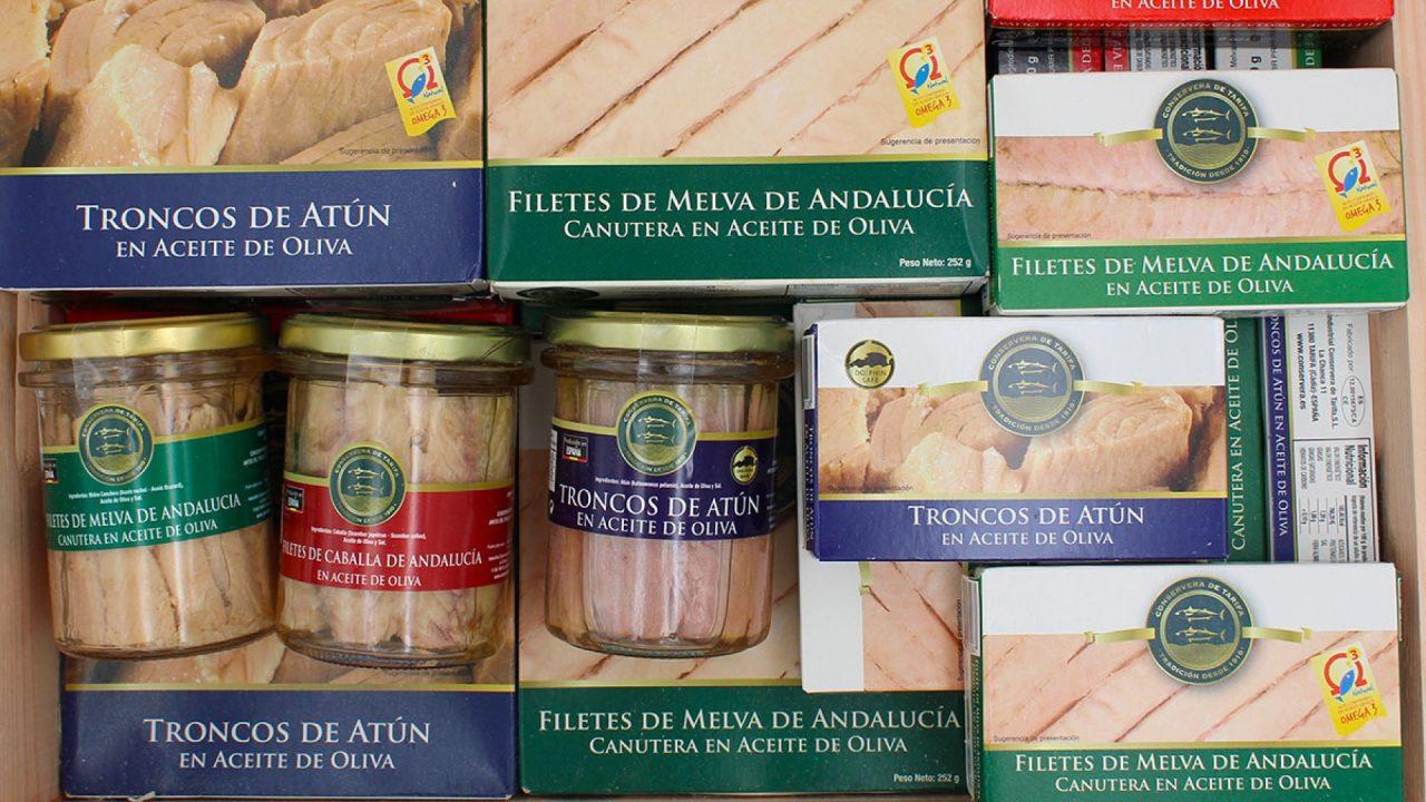 Fischkonserven Geschenke Box TarifaFisch 4250g