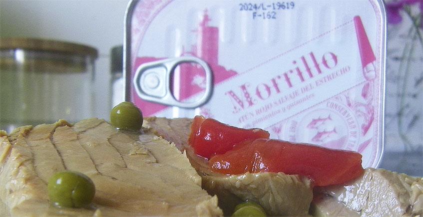 Rueckenfleisch Morrillo vom Roten Thunfisch in Spitzen Qualitaet